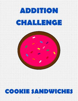 Addition Challenge: Cookie Sandwich Contest