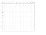 Addition Chart - blank