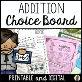 Addition Choice Board - CCSS Aligned!