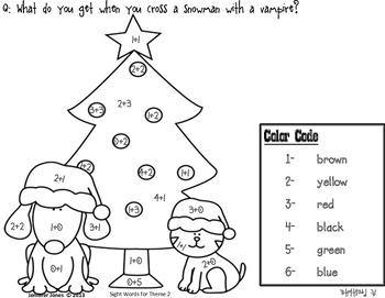 Addition Christmas Mini Set 1 - Sums 1-6