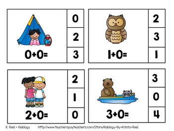Addition Activities and Centers