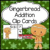 Gingerbread Man Activities: Addition