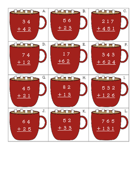 Addition Cocoa without regrouping
