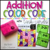Addition Color Code Worksheets
