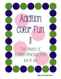 Addition Color Fun II