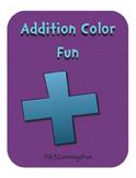 Addition Color Fun