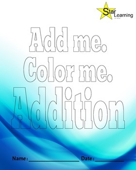 Addition Coloring Book