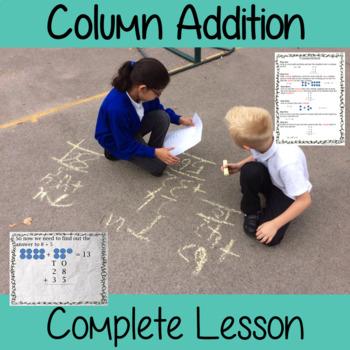Addition Column Method Complete Maths Lesson