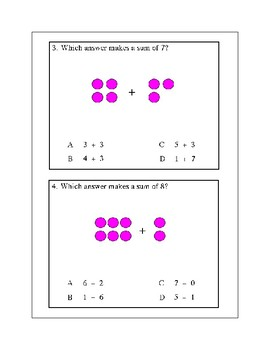 Addition Combinations and Ordering