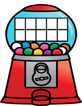 Addition Combinations to 10 with Gumballs