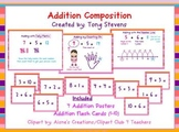 Addition Composition: Posters & Flash Cards