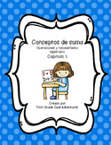 Addition Concepts Chapter 1 (Spanish Practice Worksheets)