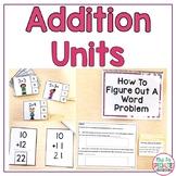 Addition Concepts Unit (Special Education Math Unit)