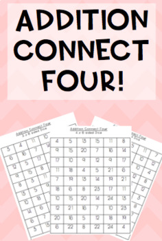#betterthanchocolate Addition Connect Four game! 6-sided d