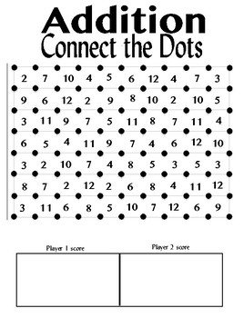 Addition Connect the Dots