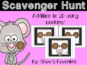 Addition Scavenger Hunt {1.OA.6}