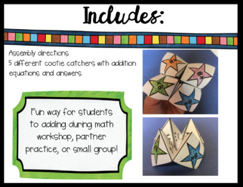 Addition Cootie Catchers