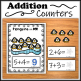 Addition Counter - Penguins on Ice