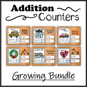 Addition Counters – Growing Bundle
