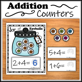 Addition Counters – Jar of Eyeballs