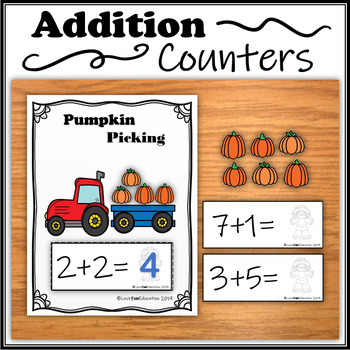 Addition Counters – Pumpkin Picking