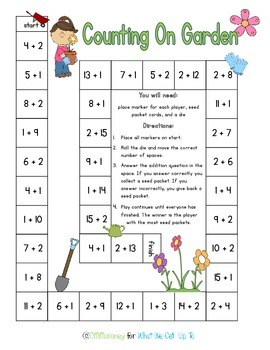 Addition Counting On Strategy Pack