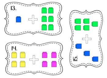Addition: Counting Strategies (Fingers, Bears, Cubes) BUNDLE