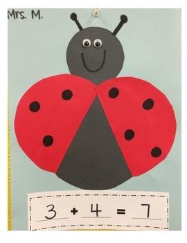 Addition Craft Ladybug