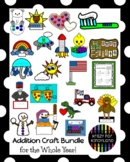 Addition Activities with Math Craft Pack MEGA BUNDLE for W