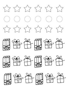 Addition Craft Christmas Tree Addition