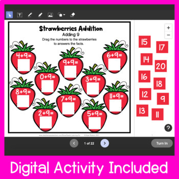 Addition Cut and Paste: Addition Worksheets for Addition Facts to 20