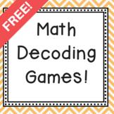 Addition Decoder Game