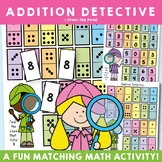 Addition Detective - Fun Activities for Numbers to 20
