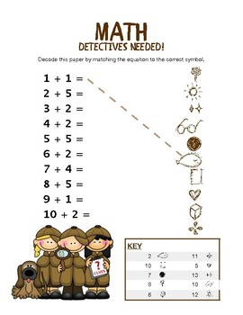 Addition Detectives