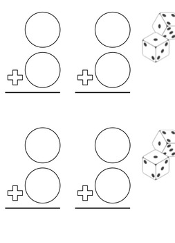 Addition Dice Game