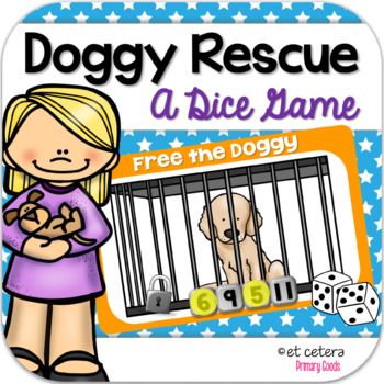 Addition Dice Game ~ Doggy Rescue