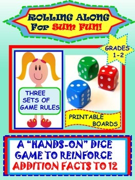 Kindergarten and Grade One Math Fact Fun ~ Multi-Leveled