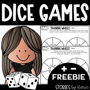 Addition Dice Game (Freebie)