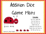 Addition Dice Game Mats