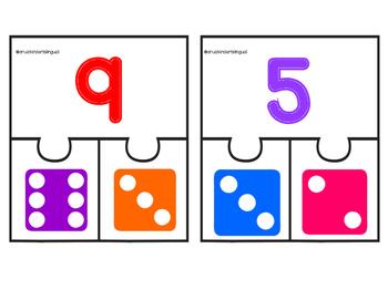 Addition Dice Puzzle