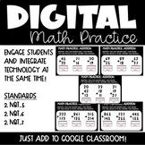 Addition Digital Math Practice for 2nd Grade