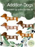 Addition Dogs (Dachshund Sausage Dog Maths)