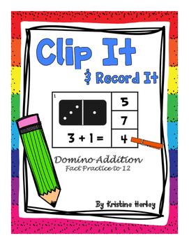 Addition - Domino Addition Clip Cards