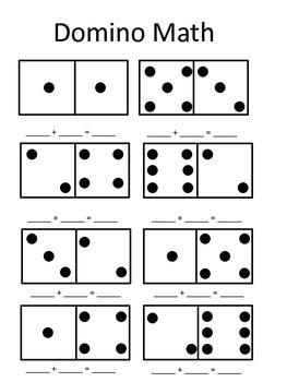 Addition Domino Math
