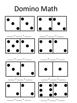 Addition Domino Math