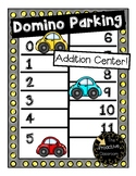 Addition Game Domino Parking Lot Car Theme Addition