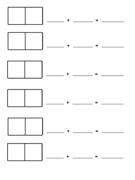 Addition Dominoes Activity