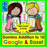 Addition Dominoes To 10 Google Slides Kindergarten First Grade Distance Learning