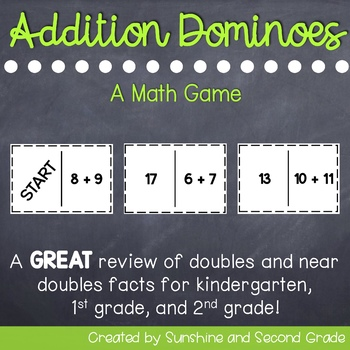 Addition Dominoes: A Math Game
