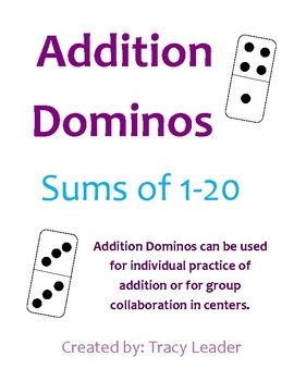 Addition Dominos
